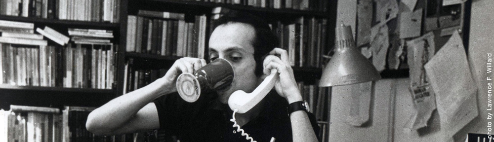 Erich Segal on the phone