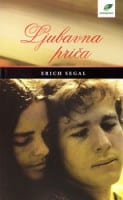 Erich Segal - Love Story Serbian Book Cover